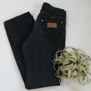 Mens WRANGLER Black Jeans - Size 29x32